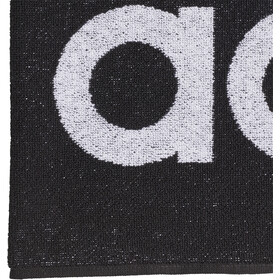 adidas Towel L, black/white